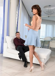 Suzy Rainbow Spanked And Fucked Hard