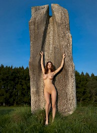 Busty Susann Naked In The Natur...