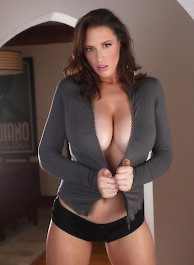 Lana Kendrick with big boobs