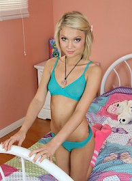 Dakota Skye Strips On Her Bed