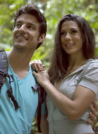 Alexa Tomas Makes Love In The Forest