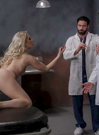 Ashley Fires Gets Double Penetrated By Two Doctors