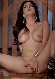 brunette busty babe sunny leone free video