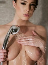 Bijou Takes A Hot Shower