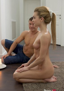 girl Sonya Sweet gets fucked by her yoga instructor