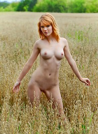 Mia Sollis Nude On A Field