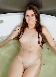 Dana Takes A Hot Bath