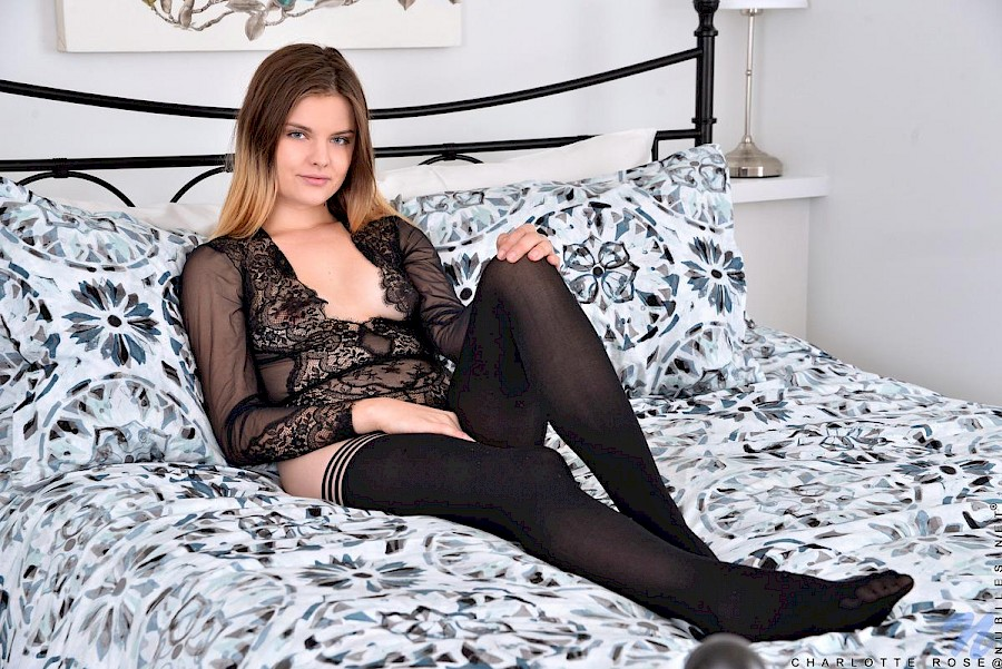 Pantyhose sex black pussy charlotte sexy