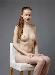 Sexy Emily Bloom Studio Sitting