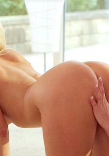 Two Hot Blonde Lesbians amazing Porn Video for free
