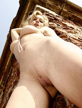 Blonde pretty girl Sweet Ira gets naked for you