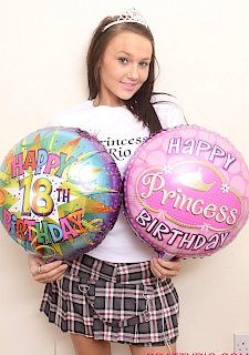 teen Princess Rio celebrates 18th birthday
