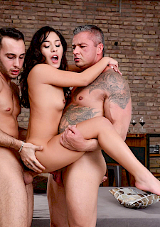 slut babe Liv Revamped gets double-stuffed